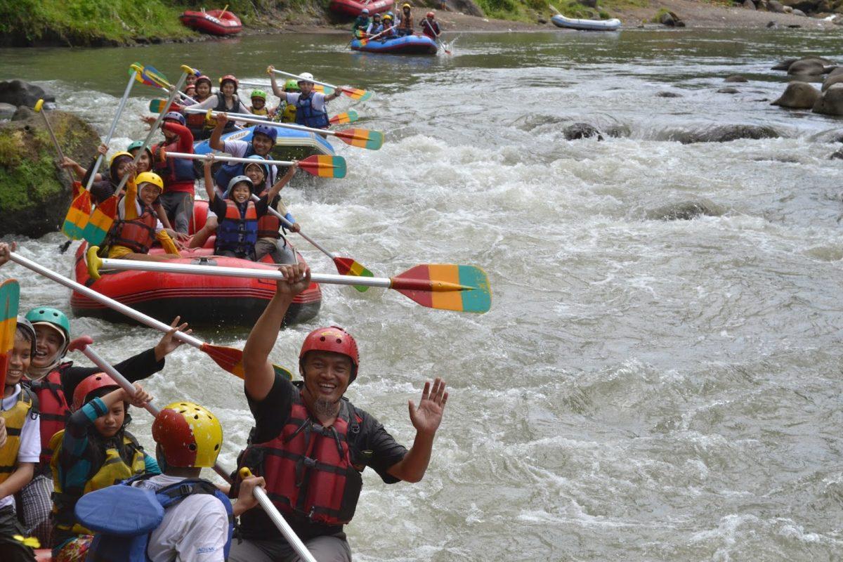 rafting dekat borobudur