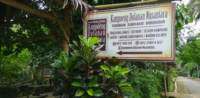 menikmati ke desa wisata bumiharjo